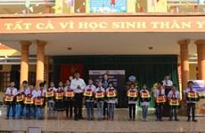 BIDV trao tặng 5.000 cặp phao cứu sinh cho trẻ nhỏ tại 10 địa phương