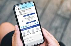 Ngân hàng đầu tiên hỗ trợ khách hàng giao dịch trên ứng dụng chat