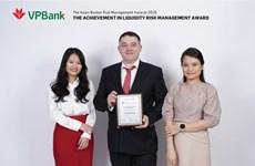 VPBank nhận giải thưởng về quản trị rủi ro thanh khoản tốt nhất