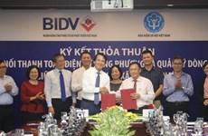 BIDV và Bảo hiểm Xã hội kết nối điện tử để quản lý dòng tiền