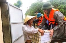 Ngân hàng Chính sách xã hội ủng hộ 1,4 tỷ đồng cho miền Trung