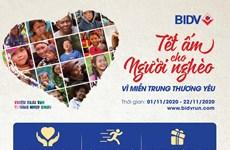 BIDV tổ chức giải chạy Tết ấm cho người nghèo-vì miền Trung thương yêu