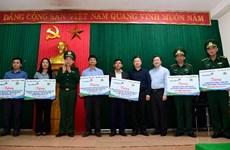 VietinBank hỗ trợ quân dân khu vực biên giới Quảng Nam, Quảng Bình