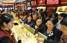 Thương hiệu SJC và vàng Rồng Thăng Long quay đầu tăng 150.000 đồng
