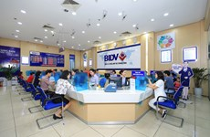 BIDV liên tiếp 4 năm nằm trong tốp 10 doanh nghiệp lớn nhất