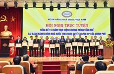 Thống đốc Ngân hàng trao bằng khen về cải cách hành chính cho TPBank