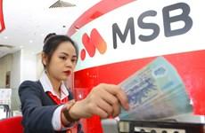 MSB chào bán 82,5 triệu cổ phiếu quỹ cho cổ đông hiện hữu