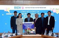 BIDV dành 30 tỷ đồng tặng quà cho người nghèo đón Tết