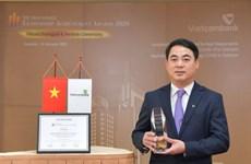 Chủ tịch VCB được trao giải lãnh đạo xuất sắc trong ứng phó COVID-19