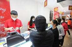 Giá vàng giảm ngày Vía Thần Tài, khách đặt trực tuyến tăng mạnh