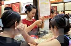 Giá vàng trong nước giảm mạnh tới 370.000 đồng theo đà thế giới