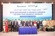 Sacombank hợp tác với Bamboo Airways: Hai thương hiệu, triệu giá trị