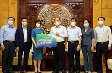 Ngân hàng VPBank ủng hộ 10 tỷ đồng phòng chống dịch COVID-19