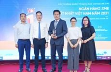 VietinBank đoạt giải Ngân hàng SME tốt nhất Việt Nam 2021