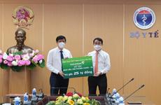 Vietcombank dành cho giáo dục và y tế gần 200 tỷ đồng mỗi năm