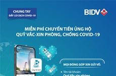 Chuyển tiền ủng hộ không cần nhớ số tài khoản ngay trên app BIDV