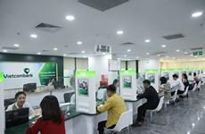 Dư nợ tín dụng của Vietcombank đạt trên 920.000 tỷ đồng, tăng 9,8%