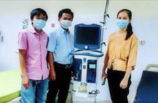 VPBank hỗ trợ gấp 715 máy thở hiện đại cho các tỉnh phía Nam