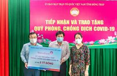 VietinBank tiếp tục dành hơn 27 tỷ đồng hỗ trợ các tỉnh phía Nam