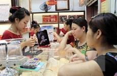 Dù giảm, giá vàng trong nước vẫn cao hơn thế giới trên 9 triệu đồng