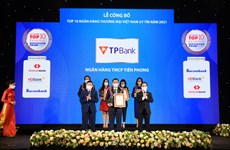 TPBank giữ vững vị trí trong tốp 10 ngân hàng thương mại uy tín