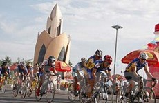 Giải xe đạp: Tay đua Hàn Quốc về nhất chặng 1