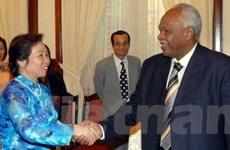 Tăng hợp tác nông nghiệp, dầu khí với Sudan