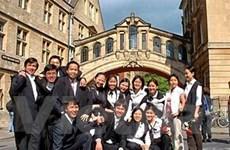 Giao lưu sinh viên Việt tại Đại học Oxford