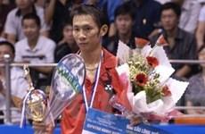 Tiến Minh đoạt chức vô địch giải cầu lông quốc tế