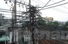 Chưa thống nhất được mức giá thuê cột điện