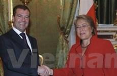 Nga-Chile thỏa thuận ký Hiệp ước chiến lược