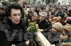 Gruzia: Kiên quyết đòi Tổng thống từ chức
