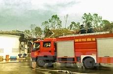 Đồng Nai: Cháy 1.000 m2 nhà xưởng sản xuất