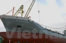 Hạ thủy tàu côngtennơ đa năng 9.200 tấn