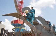 Cơ sở đóng tàu biển 6.500 DWT đi vào hoạt động