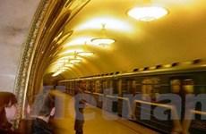 Hệ thống tàu điện ngầm Mátxcơva tròn 74 tuổi