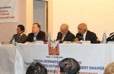 Bế mạc phiên tòa ủng hộ nạn nhân điôxin VN