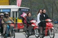 Hà Nội: Vi phạm không đội mũ bảo hiểm gia tăng