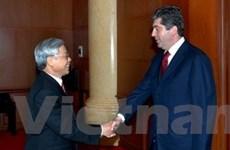 Cần tích cực triển khai hợp tác Việt Nam-Bulgaria