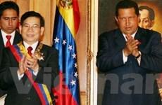 Chủ tịch nước kết thúc chuyến thăm Venezuela