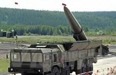Nga sản xuất hàng loạt tên lửa Iskander