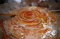 Croatia sản xuất chiếc xúc xích dài 530 mét