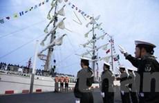 Tàu nước ngoài dự kỷ niệm thành lập Hải quân Trung Quốc