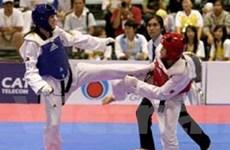 VN đoạt 10 HCV trong ngày đầu dự Giải Taekwondo
