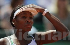 Giải quần vợt Pháp mở rộng: Cú sốc đầu tiên