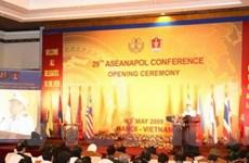 Khai mạc hội nghị ASEANAPOL lần thứ 29