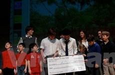 Trẻ em New York góp tiền xây cầu tại VN