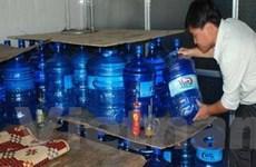 Niêm phong hơn 16.500 lít nước uống đóng chai