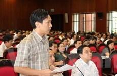 Quốc hội thảo luận về dự án Luật Viễn thông