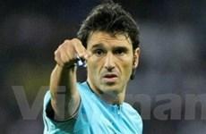 Trọng tài Thụy Sĩ bắt chung kết Champions League